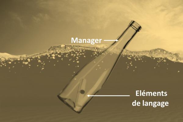 Les élements de langage, aussi efficaces qu'une bouteille à la mer